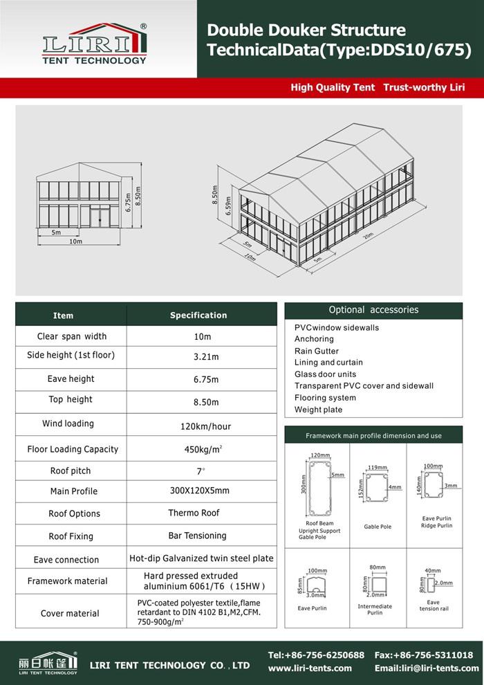 Standard Double Decker Tents 2