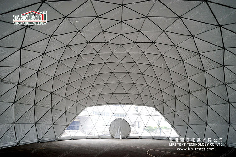19m diameter half sphere tent (1)