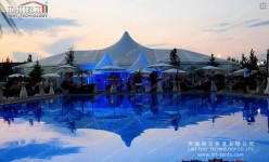 Mix Structure Tent in Romania (3)