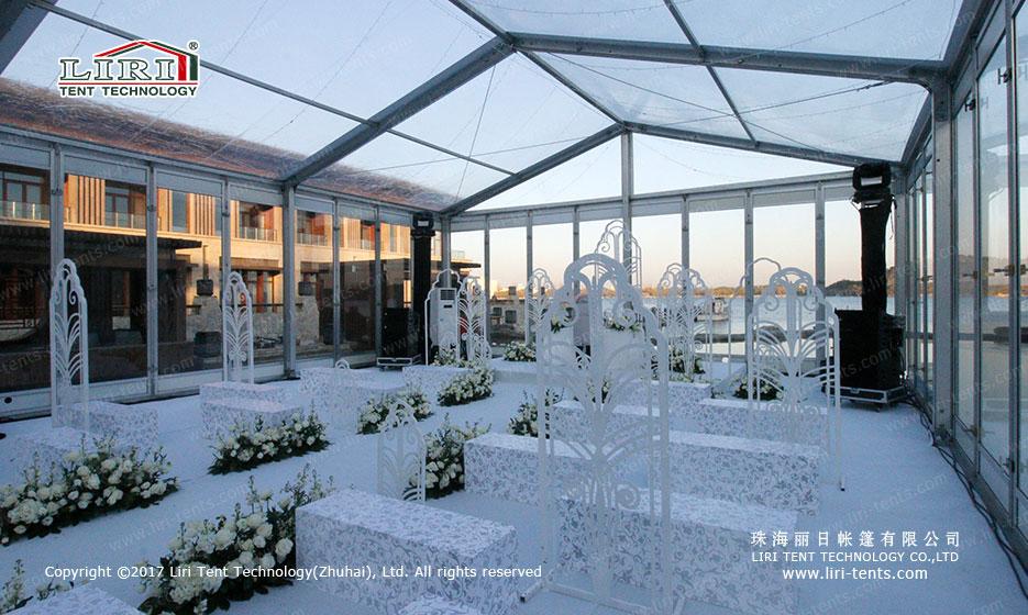 10mx40m Transparent Wedding Tent