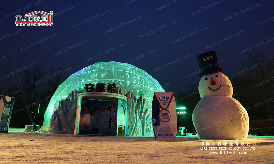 geodesic event dome tent