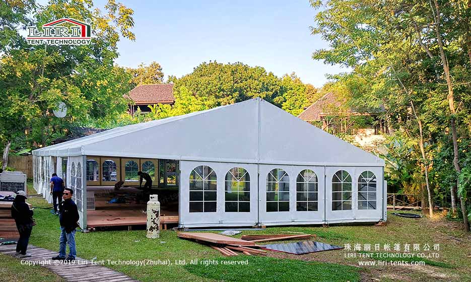 How to Decorate a Tent or a Wedding